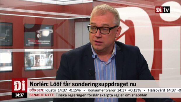 """Wikström: """"Det var tydligt att Lööf skulle få uppdraget"""""""