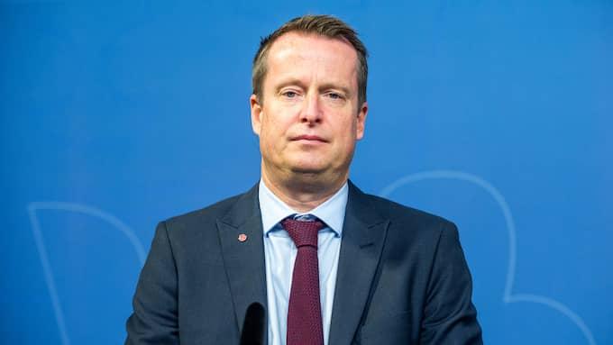Inrikesminister Anders Ygeman (S) ser allvarligt på skottlossningen på Vasagatan i Göteborg. Foto: PELLE T NILSSON