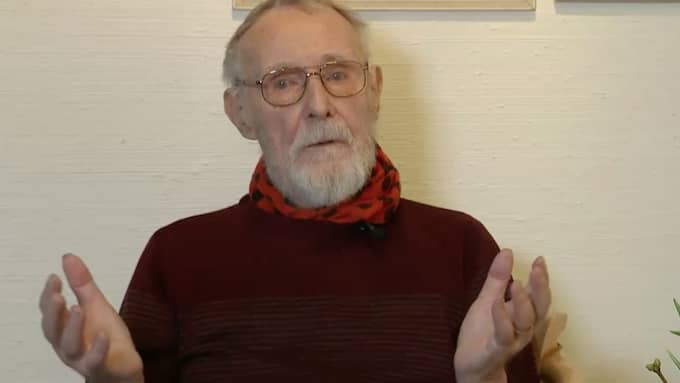 Enligt Anders Ebbessen, överläkare vid Ljungby lasarett, har Kamprad skänkt pengar tidigare till sjukhuset, men det här är den enskilt största donationen. Foto: TV4.
