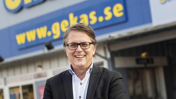 """Gekås vd Jan Wallberg: """"Vi ser det här som en intressant investering"""". Foto: ANDERS YLANDER"""