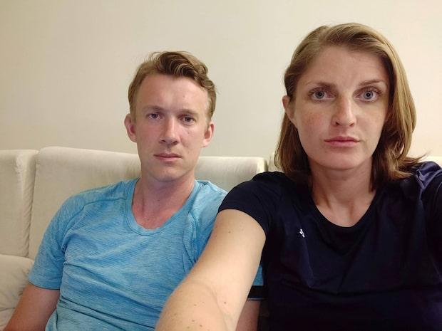 """Patriks och Annas hotell blev bombat i Sri Lanka: """"Vi hade tur"""""""