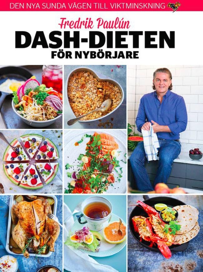 """Fredrik Paulún: Dash-dieten för nybörjare"" säljs i butik just nu."