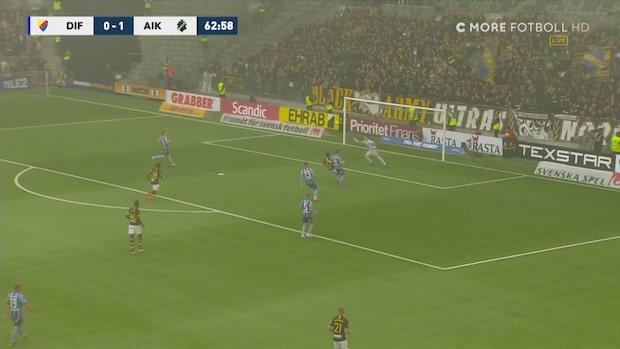 AIK utökar - efter Larssons briljanta frispark