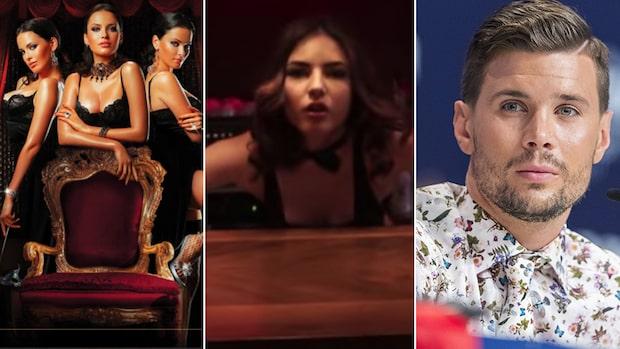 Strippklubb på Eurovisions svenskhotell i Kiev
