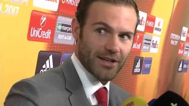 Mata berättar om Uniteds vilda firande