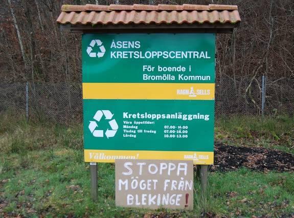 Miljöstation sölvesborg öppet