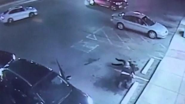 Road rage: Rasande man går till attack