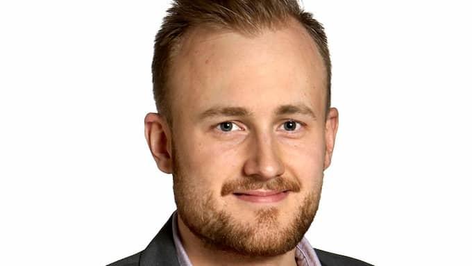 Martin Forsell (VV), ersättare i Göteborgs fullmäktige. Foto: PRESSBILD