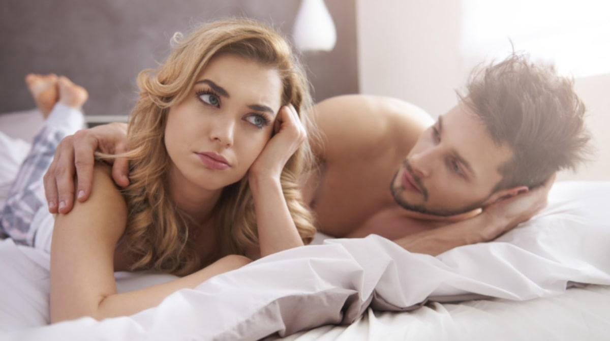 kvinna oförmögen att orgasm