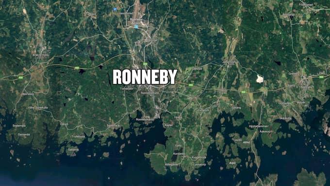 Kvinnan försvann i Ronneby på lördagsmorgonen. Foto: Googlemaps