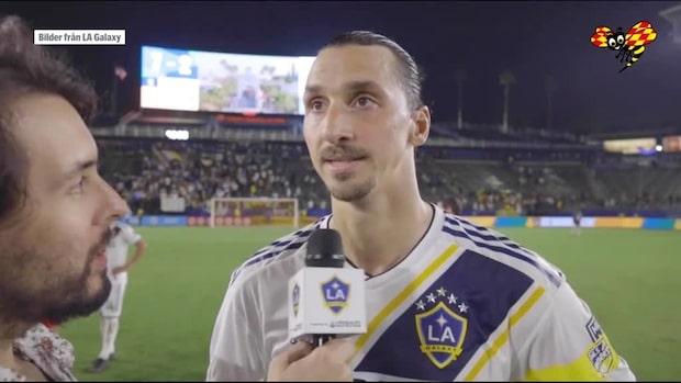 """""""Göra mål är enkelt - du behöver bara vara Zlatan"""""""