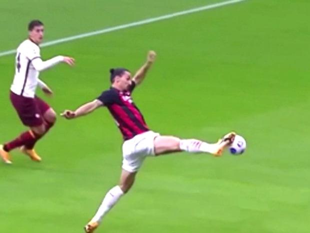 Zlatans galna målsuccé fortsätter – gör 1–0 mot Roma direkt