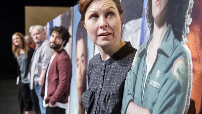 Anna Harling, Kjell Wilhelmsen, Ramtin Parvaneh och Ylva Gallon. Foto: OLA KJELBYE