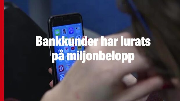 Bankkunder har lurats på miljonbelopp