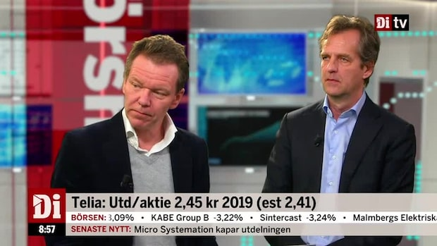 "Di:s analytiker om Telias rapport: ""Bättre men inte bra"""