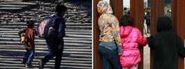 Sjuårig flicka död i  förvar vid gränsen