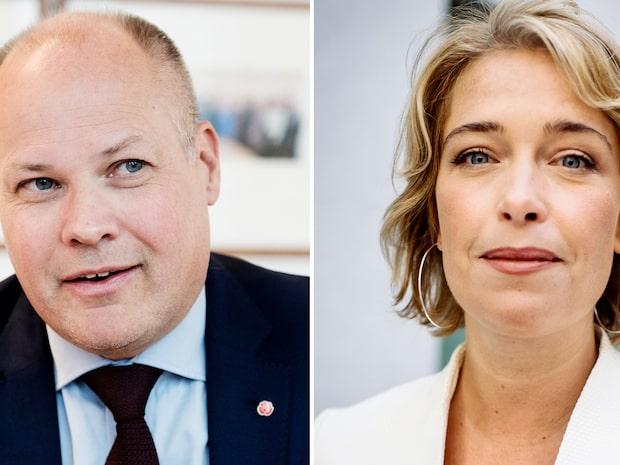 Uppgifter: Morgan Johansson och Annika Strandhäll är ett par