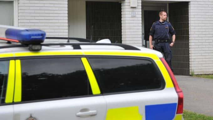 Det var i lördags som larmet om mord i Karlstad kom. Foto: DAVID HÅRSETH