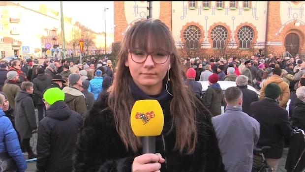 Kippavandring mot judehat i Malmö