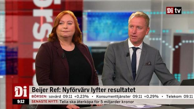 "Experterna om Beijer Ref:s rapport - ""Den var jättebra"""
