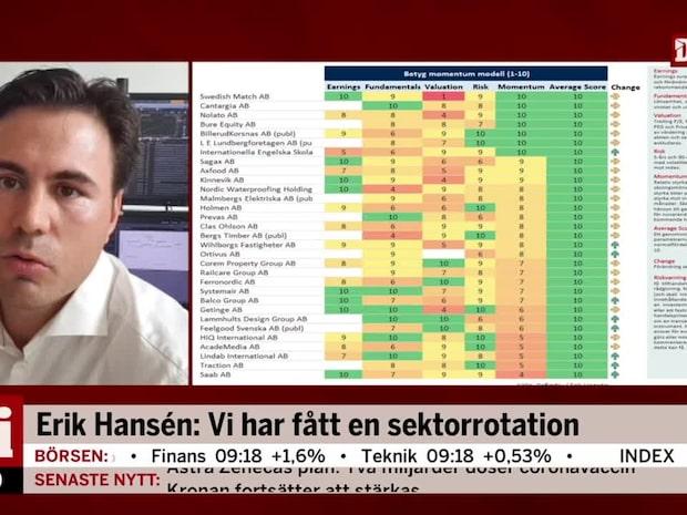 Erik Hansén: En v-formad vändning