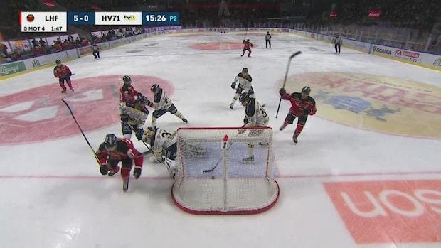 Höjdpunkter: Luleå körde över HV71