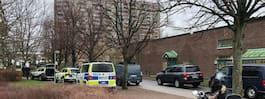 Stor polisinsats i Malmö – insatsstyrkan på plats