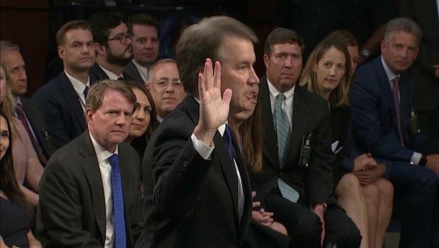 Senaten ska ta ställning till Brett Kavanaugh