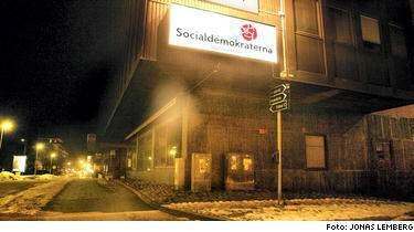 Högkvarteret för SSU i Stockholms län ligger på Skytteholmsvägen i Solna. Här jobbar Tobias Gärdås som regionombudsman. Har du tips på andra smutskastningskampanjer bland rikdsdagspartierna? Mejla Expressen.