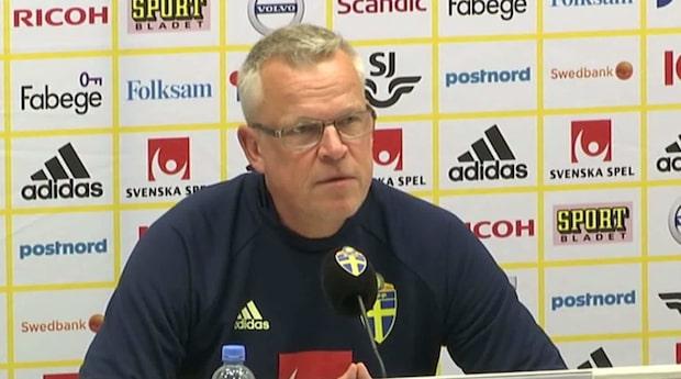 """Andersson om startelvan: """"Svårt på flera positioner"""""""