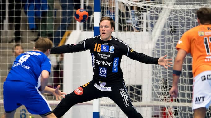 Richard Kappelin spelade en matchavgörande roll när IFK Kristianstad slog Alingsås. Foto: JÖRGEN JARNBERGER / BILDBYRÅN