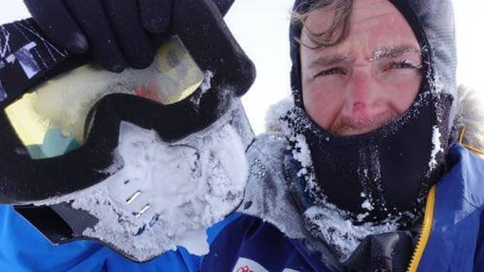 Aron Andersson har deltagit i fyra Paralympics och var den förste att bestiga Kebnekaise med rullstol. Foto: Privat
