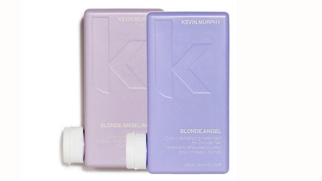 """<span>Blonde angel wash and treatment, 259 kronor/259 ml/st, Kevin Murphy</span><span><span class=""""wasp-icon""""></span><span class=""""wasp-icon""""></span><span class=""""wasp-icon""""></span><span class=""""wasp-icon""""></span><br></span>"""