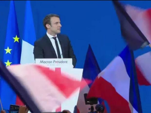 "Macron-anhängare: ""Vi gör någonting viktigt i Frankrike"""
