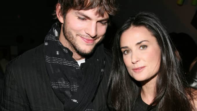 Ashton Kutcher och Demi Moore. Foto: Shahar Azran / ALL OVER PRESS POLARIS