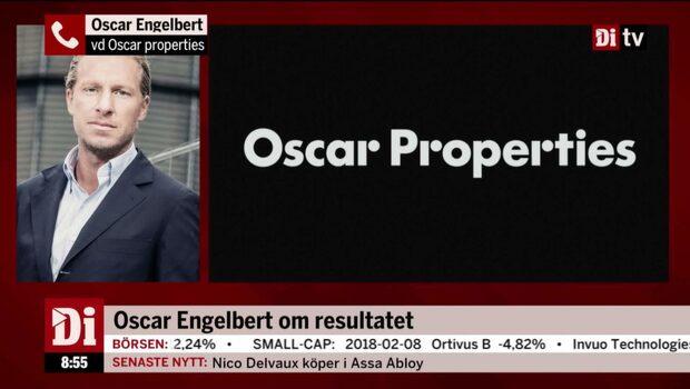 Oscar Engelbert, vd Oscar properties, om det pressade läget