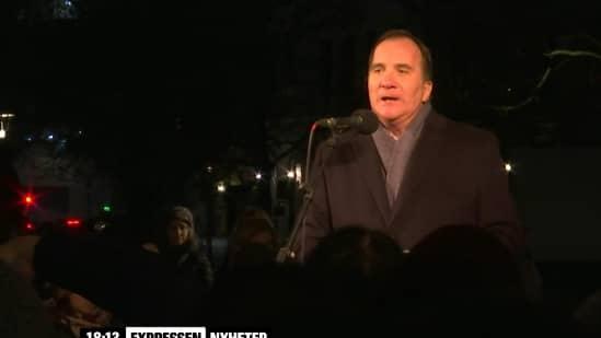 Sveriges statsminister Stefan Löfven. Foto: Expressen TV