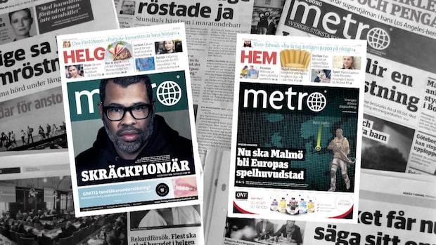 Metro gör sig av med alla journalister