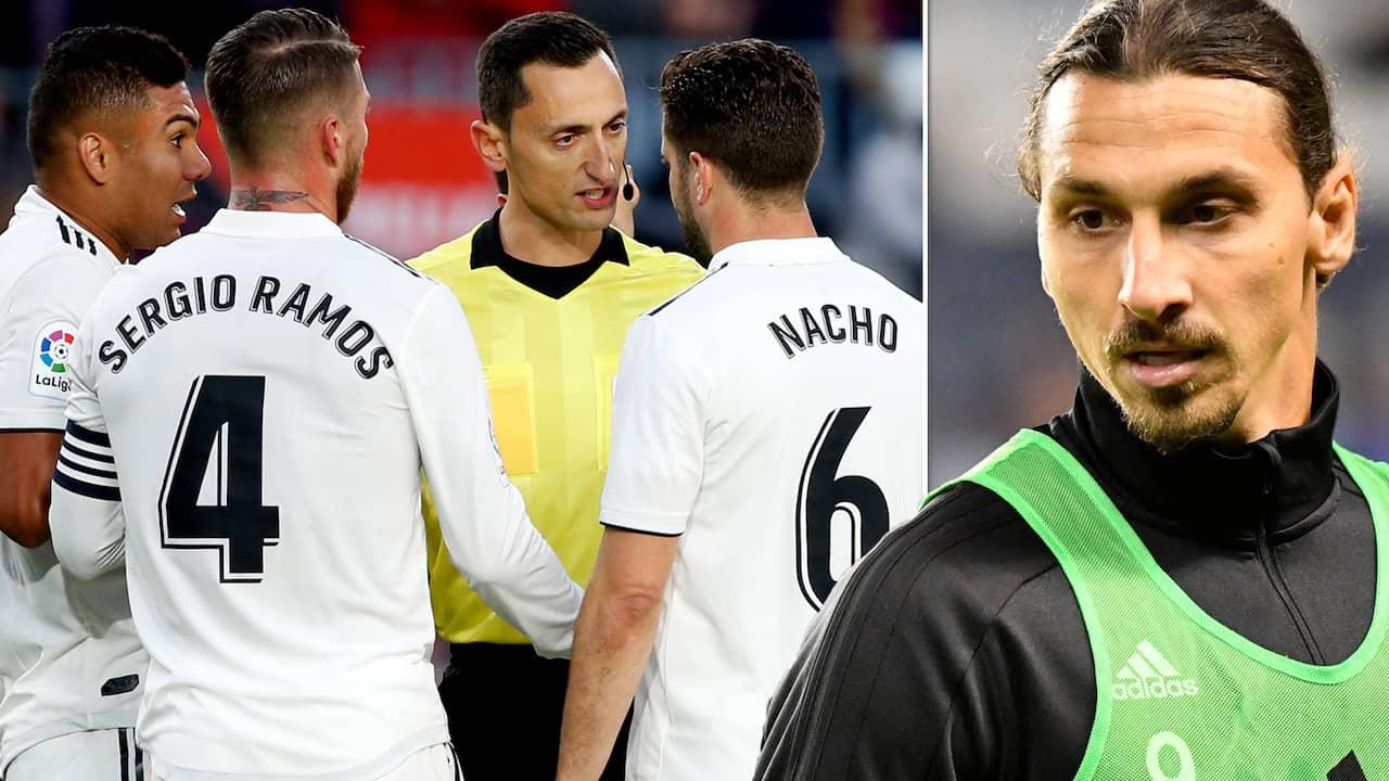 """Hemliga samtal om Zlatan till Real Madrid: """"Intressant"""""""