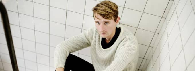 SORGEARBETE. Kristian Gidlund beskriver sin blogg som ett sorgearbete, och ett sätt att hjälpa andra att inse att de inte är ensamma om sin sjukdom. Foto: JENS L'ESTRADE Foto: Jens L'Estrade