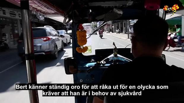 """Svenskarnas skräck i Thailand: """"Bättre att dö"""""""