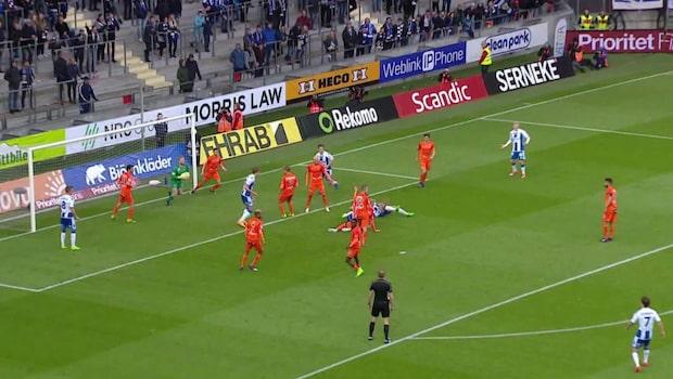 Highlights: IFK Göteborg-AFC Eskilstuna 1-1