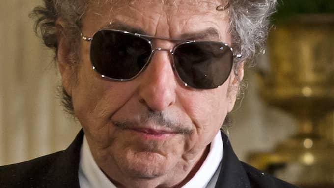 2014 bjöd Bob Dylan på en privatspelning med Fredrik Wikingsson som enda åskådare. Foto: JIM LO SCALZO / EPA / TT
