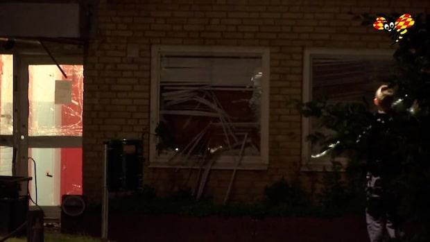 """Polisen som nattens sprängning: """"Allvarliga skador om någon passerat"""""""