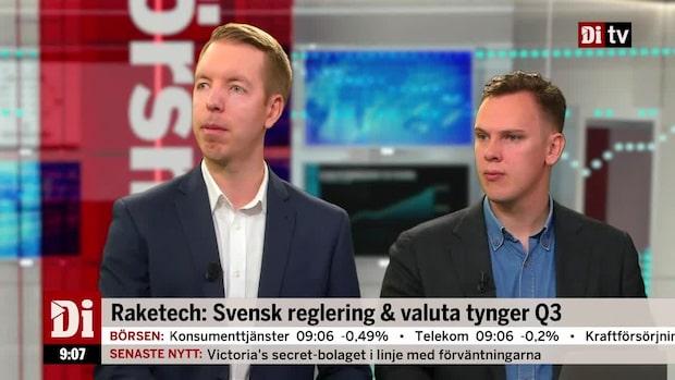 Analytikerna om Raketech och den svenska spelregleringen