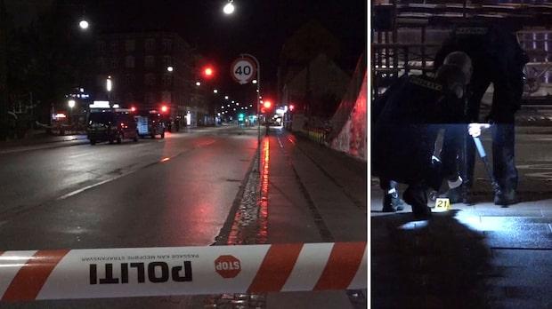 Svensk kvinna träffad av skott i Köpenhamn