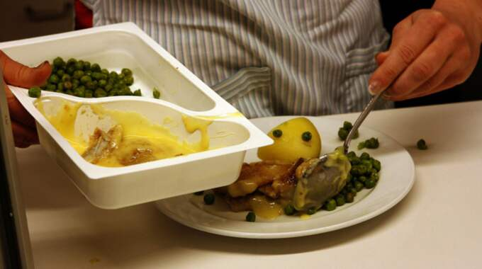 Barnen på asylboendet växer inte som de ska, larmar en dietist. Foto: Åke Thim