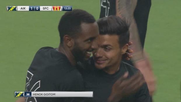 AIK tog knapp seger mot Syrianska – efter hånfulla gesten