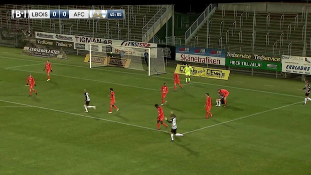 Höjdpunkter: Landskrona Bois-AFC Eskilstuna