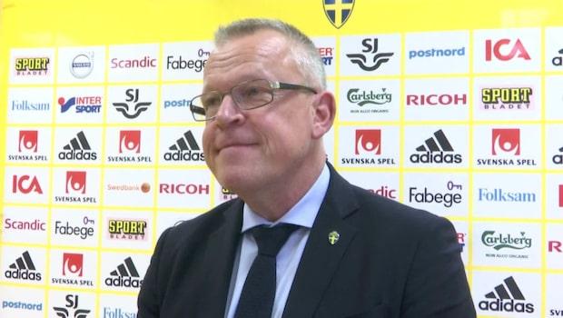 """Janne Andersson: """"Sarah är en värdig vinnare"""""""